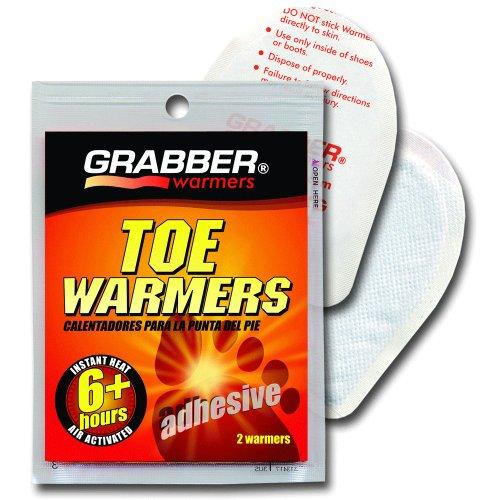 Hour Adhesive Toe Warmers - GRABBER ADHESIVE TOE WARMERS - 10 PAIR PACK - 6+ Hours