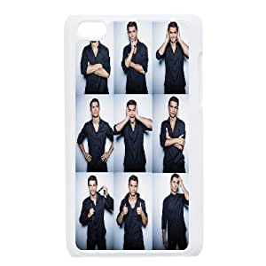 Cristiano Ronaldo Series, Ipod Touch 4 Cases, Cristiano Ronaldo Launches His New CR7 Shirts Collection Cases For Ipod Touch 4 [White]