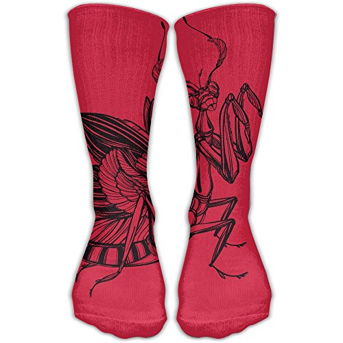Mens Woman Kung Fu Mantis Novelty Fashion Funny Crazy Cotton Crew Socks Sports Outdoor Sock