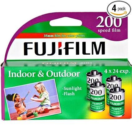 Amazon Com Fujifilm Fujicolor 200 Speed 24 Exposure 35mm Film 4