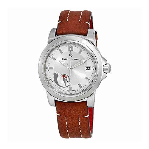 Carl F. Bucherer Patravi Automatic Steel Mens Strap Watch Power Reserve Indicator Date 00.10616.08.13.01 Retail Price (Mens Automatic Movement Date Indicator)