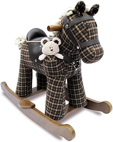 Rufus & Ted Infant Wood Rocking Horse LB3018 [並行輸入品]
