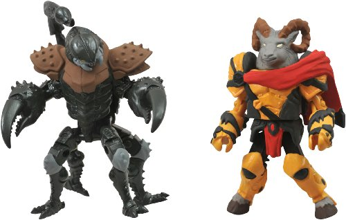 DIAMOND SELECT TOYS Battle Beasts Minimates Series 1: Vorin and Scorpion, 2-Pack ()