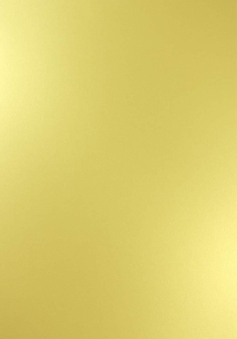 Netuno 100x Blatt Perlmut-Gelb 250g Papier A4 210x297mm Majestic Mellow Gelb - ideal für Hochzeit, Geburtstag, Taufe, Weihnachten, Einladungen, Diplome, Geschenktüten, Visitenkarten, Briefkarten B07JNRV818 | Hohe Qualität und Wirtschaftlichkeit
