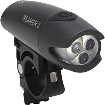 Planet Bike Beamer 3 LED Bicicleta luz con Quick CAM Soporte para ...