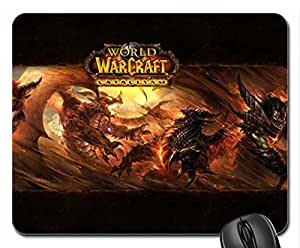 world of warcraft Mouse Pad, Mousepad (10.2 x 8.3 x 0.12 inches)
