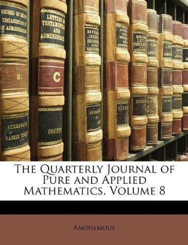 The Quarterly Journal of Pure and Applied Mathematics, Volume 8 PDF ePub fb2 ebook