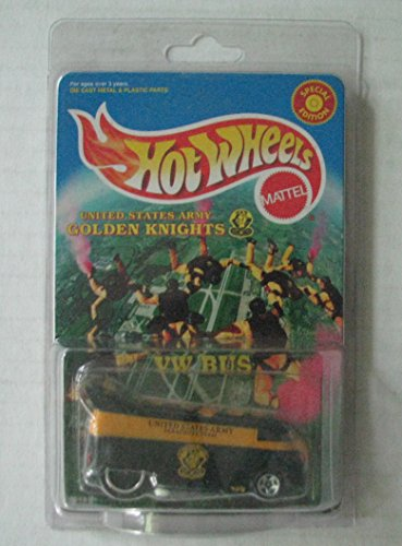 Hot Wheels United States Army Golden Knight VW Bus ()