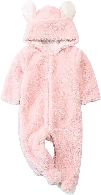Voslin Brown Teddy Bear Decor Unisex Newborn Baby Black Onesie Cute