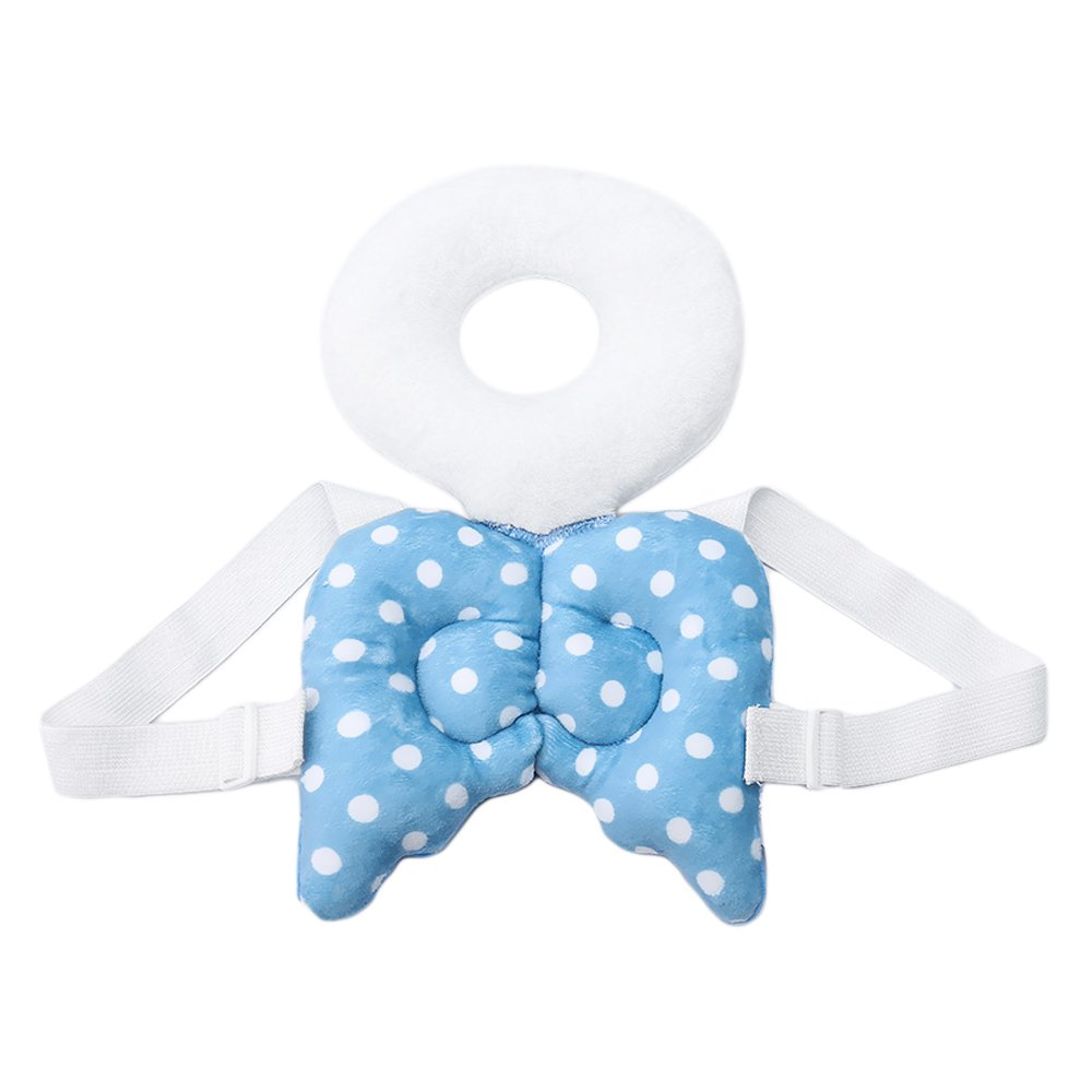 Gosear Adjustable Baby Toddlers Head Protective Safety Pad Cushion for Baby Walkers Preventing Head Injured Wing Style