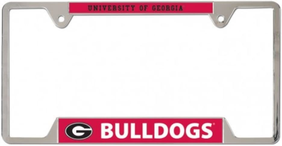 Georgia Bulldogs Metal License Plate Frame