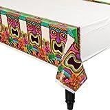 tiki tissue dispenser - Tropical Tiki Table Cover Big Party Pack