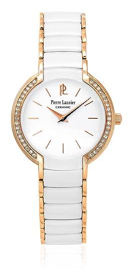 Pierre Lannier - 021h900 - Elégance cerámica - Reloj Mujer ...