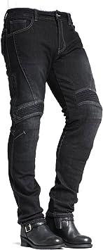 MAXLER Jean Biker Jeans for Men Motorcycle Motorbike Riding Kevlar Jeans 1617 Blue 42
