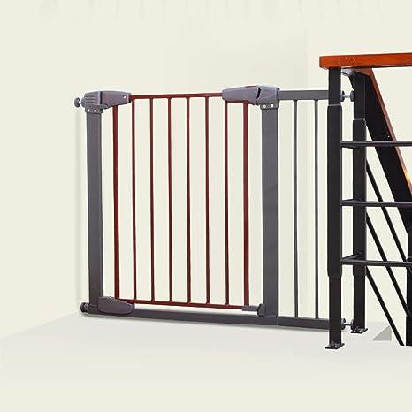 SuRose Extra Ancho Puerta de bebé Protector de Pared Puerta Gris para Mascotas para Puertas Escalera 77-173cm Ancho (Tamaño: 127-133cm): Amazon.es: Deportes y aire libre