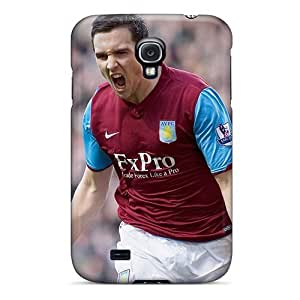 New The Famous Club Aston Villa Tpu Skin Case Compatible With Galaxy S4