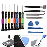 SkyQ 16 in 1 Precision Screwdriver Set Multipurpose Electronics Repair Tool Kit for Cell Phone/Tablet/PC/MacBook
