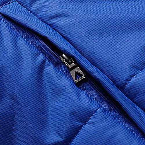 Abrigos Capucha Niños Azul Algodón Ropa Blusa Chaquetas De Hombres ZnwvIq1xx
