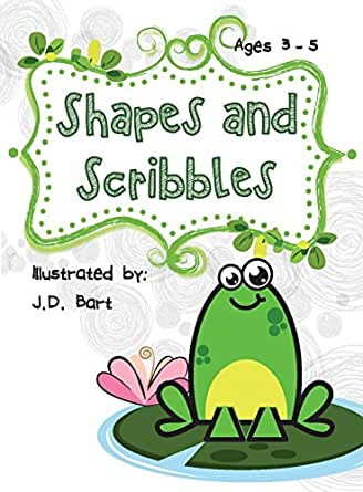 Amazon.com: Shapes and Scribbles: Learn how to use shapes to draw ...