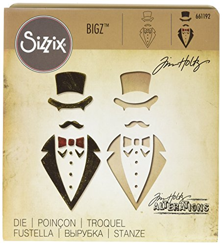 Sizzix Bigz Die, Dapper by Tim Holtz