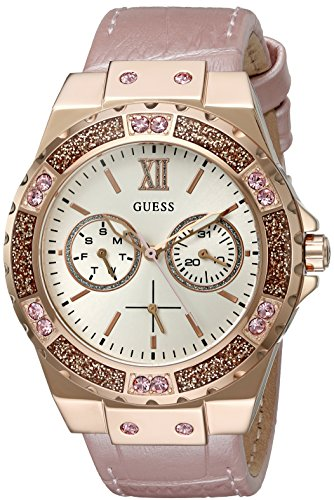 GUESS U0775L3 Gold Tone Stainless Multi function