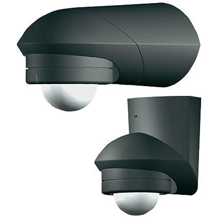 Grothe 5167044 - Detector de movimiento 360 grados 230v, montaje en superficie, ip55,
