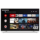 "SKYWORTH U2A Series 65"" Inch 4K 2160p UHD HDR 60Hz LED Smart Android TV Chromecast A53 Quad-Core 65U2A"