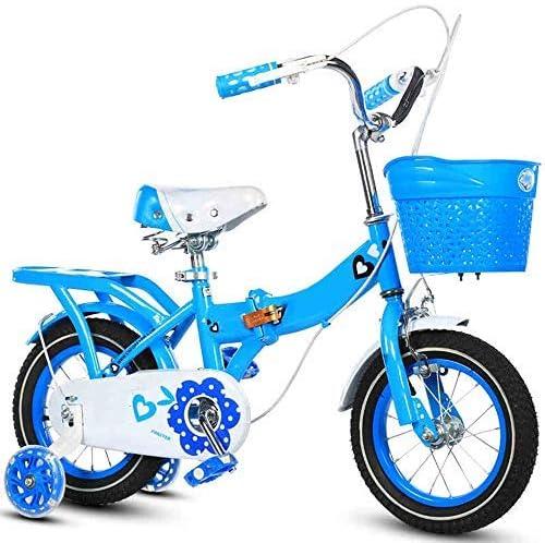 YSA キッズバイク12/14/16/18/20インチ、高炭素鋼子供用自転車補助輪付き2-11歳の男の子と女の子へのギフト