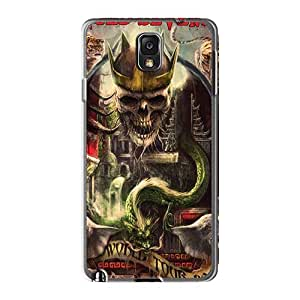 Shockproof Hard Phone Cases For Samsung Galaxy Note3 (sSn10279WNVq) Provide Private Custom Attractive Avenged Sevenfold Band A7X Pattern