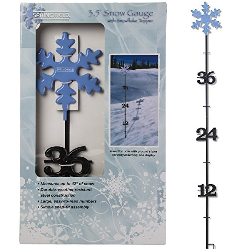 taylor precision products 98503 3.5', Snowflake Snow Gauge for $<!--$15.82-->