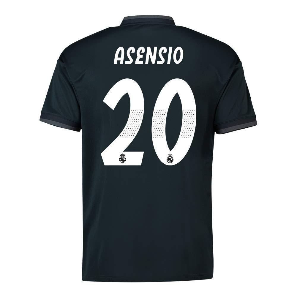 2018-19 Real Madrid Away Football Soccer T-Shirt Trikot (Marco Asensio 20)