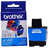 Brother LC41C Ink Cartridge, 400 Page Yield, Cyan