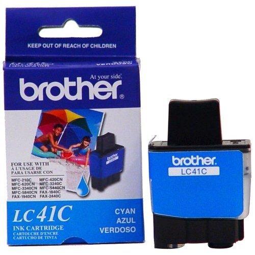 Inkjet 1840c (Brother LC41C Ink Cartridge, 400 Page Yield, Cyan)