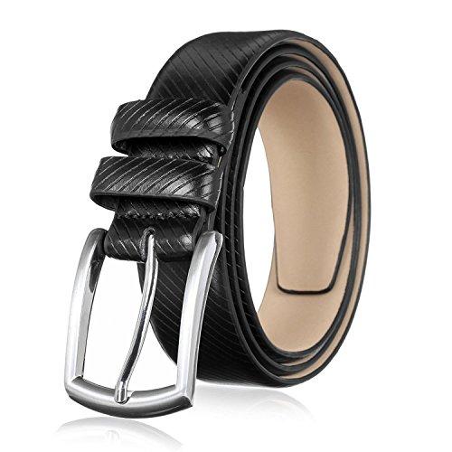 Mens Premium Leather Dress Belt (Men's Genuine Leather Dress Belt with Premium Quality - Classic & Fashion)