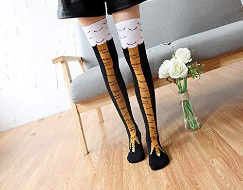 Yevison Wholesale Chicken Feet Over The Knee Thigh Socks Fashion Long Tube Over The Knee Socks Femal - http://coolthings.us