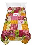 Dora Explorer Puppy Patchwork Full-Twin Bed Bedding Comforter