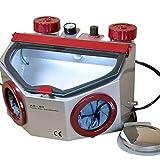 SoHome Dental Fine Blasting Unit Sandblaster Twin