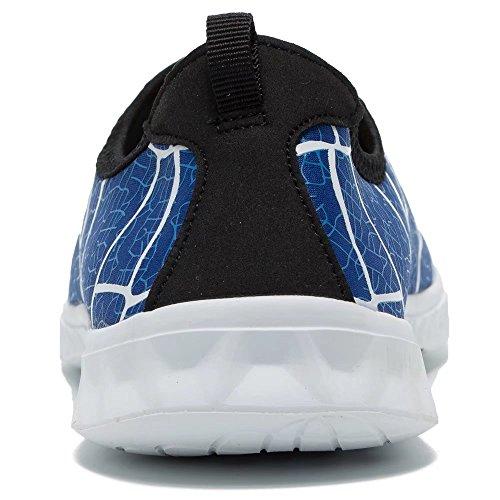 Aqua Water Schuhe Herren Leichte Wanderschuhe für Frauen Königsblau