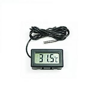 1 pc LCD Digital termómetro para la temperatura del congelador -50 ...