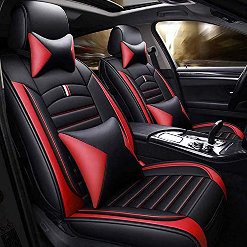 INOBXR Car seat cushion for leather seats Child Safety Seat Protector Cover, Protection Against Damage to Leather & Cloth Seats,Red: Sports & Outdoors