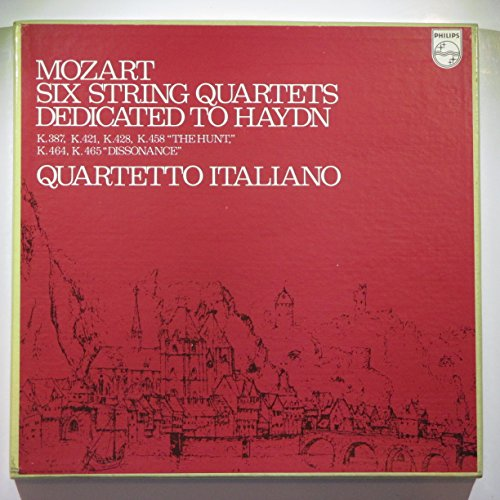Mozart: Six String Quartets Dedicated to Haydn for sale  Delivered anywhere in USA