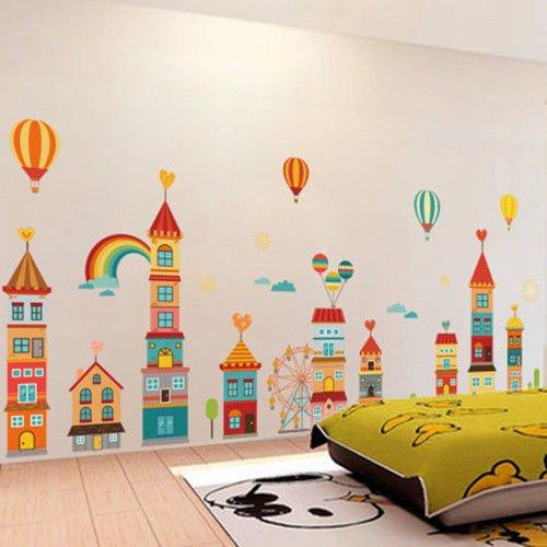 Removable House Vinyl Decor Art Mural Wall Stickers Decal Kids Baby Nursery Room N N