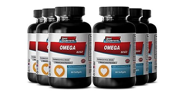 Amazon.com: Ácidos grasos omega 3 y Omega 6 – Omega 8060 ...