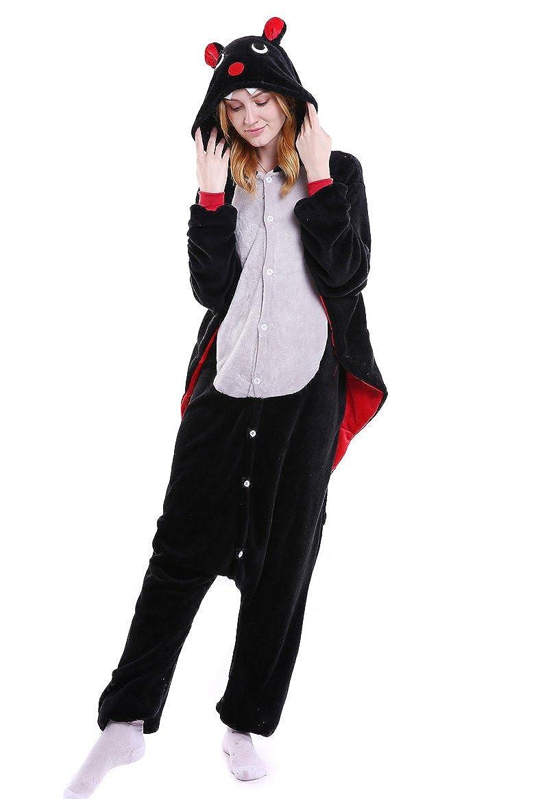 Tonwhar Cartoon Bat Sleepsuit Pajamas Costume Cosplay Homewear Lounge Wear sy-4-B