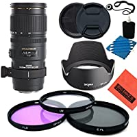 Sigma 70-200mm f/2.8 APO EX DG HSM OS FLD Telephoto Zoom Lens for Canon Digital SLR Camera - Starter Kit