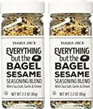 Trader Joe s Everything but the Bagel Sesame Seasoning Blend, 2.3 oz. (pack of 2)