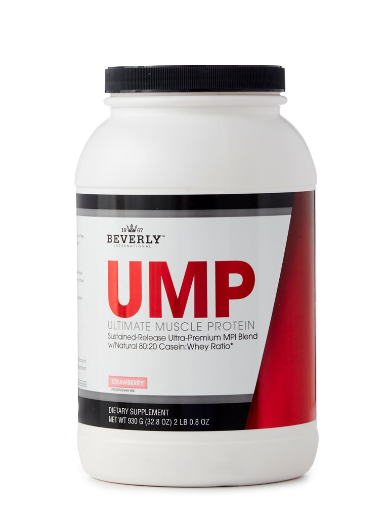 Beverly International Ultimate Muscle Protein, 2 Lbs. 0.8 oz. Strawberry