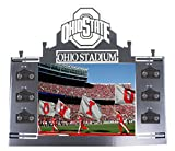Henson Metal Works Ohio State University Collegiate Logo Coat & Hat Rack