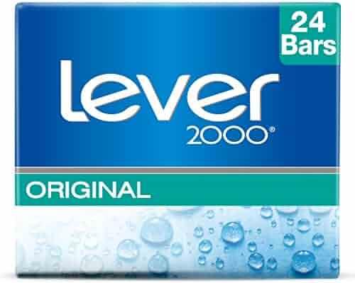 Lever 2000 Bar Soap, Original 4 oz, 12 Bar Twin Pack