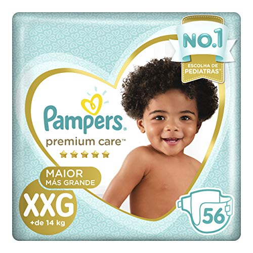 Fralda Pampers Premium Care Unidades